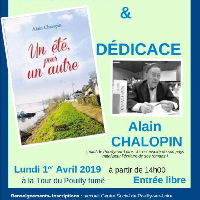 Rencontre & dédicace avec Alain Chalopin, lundi 1er Avril