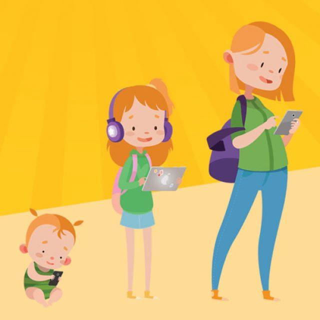 Visioconférence autour de l'utilisation des écrans par les enfants