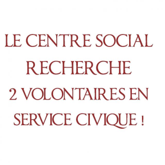 Le Centre Social de Pouilly recherche 2 volontaires en service civique !