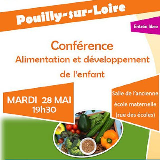 Conférence Alimentation et développement de l'enfant