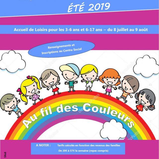 Programme des vacances d'été 2019