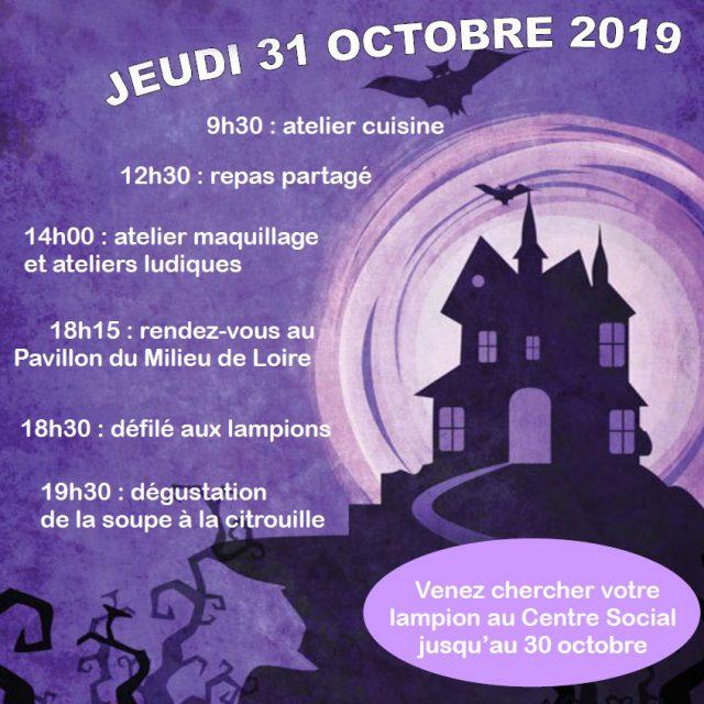Fête d'Halloween au centre social !